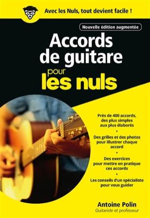 Accords de guitare pour les nuls - Antoine POLIN - laflutedepan.com