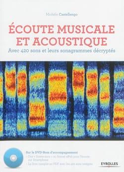 Écoute musicale et acoustique Michèle CASTELLENGO Livre laflutedepan