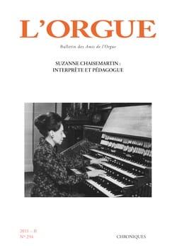 L'Orgue, n° 294 (2011/II) Revue Livre Revues - laflutedepan