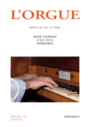 L'Orgue n°329-330 Revue Livre Les Instruments - laflutedepan