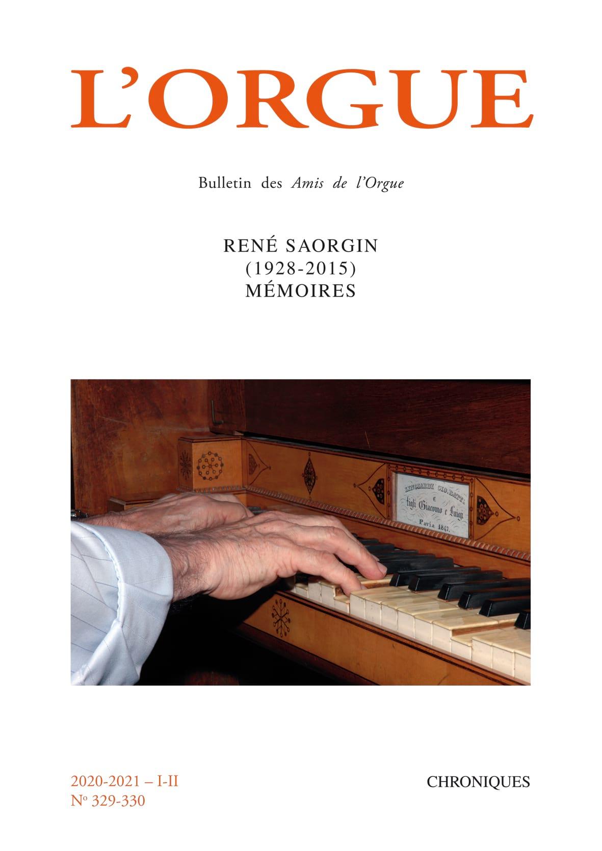 L'Orgue n°329-330 - Revue - Livre - Les Instruments - laflutedepan.com