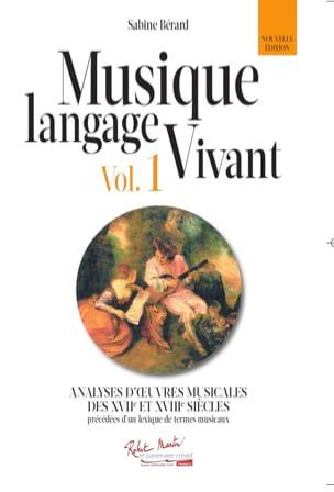 Musique langage vivant vol.1 - Sabine BÉRARD - laflutedepan.com