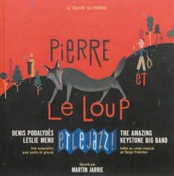 Pierre et le loup et le jazz ! PROKOFIEV Livre laflutedepan