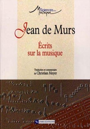 Ecrits sur la musique DE MURS Jean Livre Les Epoques - laflutedepan