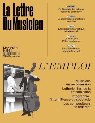 La Lettre du musicien n°544 (Mars 2021) - Revue - laflutedepan.com