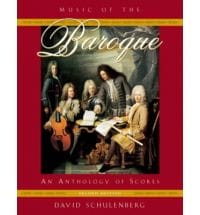 Music of the Baroque : an anthology of scores laflutedepan
