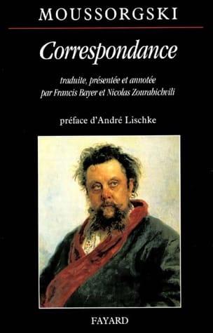 Correspondance - MOUSSORGSKI - Livre - Les Hommes - laflutedepan.com