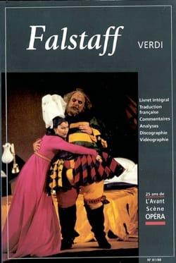 Avant-scène opéra (L'), n° 87-88 : Falstaff VERDI Livre laflutedepan