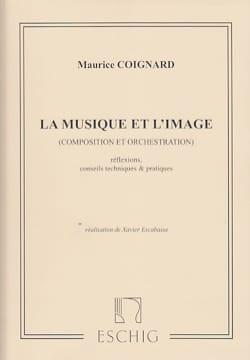 La musique et l'image Maurice COIGNARD Livre laflutedepan