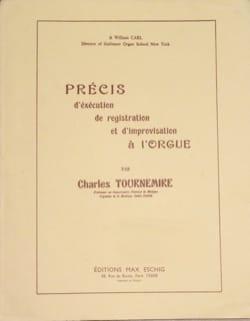Précis de registration et d'improvisation à l'orgue laflutedepan