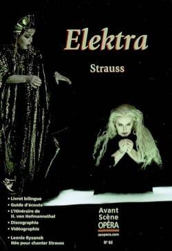 Avant-scène opéra (L'), n° 92 : Elektra - laflutedepan.com