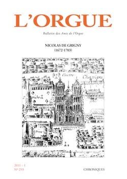 L'Orgue, n° 293 (2011/I) Revue Livre Revues - laflutedepan