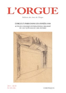 Revue - L'orgue, n° 295-296 (2011/III-IV) - Livre - di-arezzo.fr