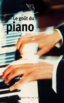 Le goût du piano BALAVOINE Cécile (dir.) Livre laflutedepan