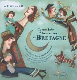 Comptines et berceuses de Bretagne Collectif Livre laflutedepan