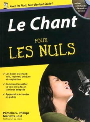 Le chant pour les nuls - Pamelia PHILLIPS - Livre - laflutedepan.com