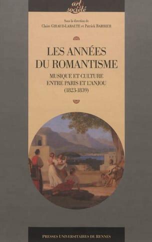 Les années du romantisme : musique et culture entre Paris et l'Anjou : 1823-1839 laflutedepan
