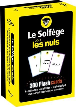 Le solfège pour les nuls : 300 flashcards Hugo PRIGENT laflutedepan