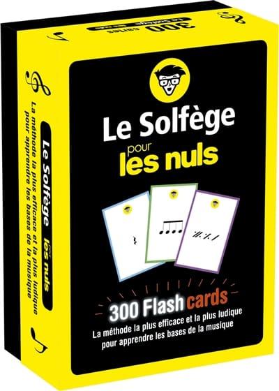 Le solfège pour les nuls : 300 flashcards - laflutedepan.be