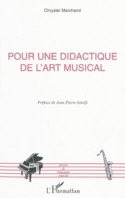 Pour une didactique de l'art musical Christophe MARCHAND laflutedepan