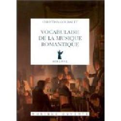 Vocabulaire de la musique romantique Christian GOUBAULT laflutedepan