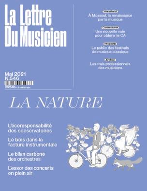 La Lettre du Musicien n°546 (Mai 2021) : La Nature Revue laflutedepan
