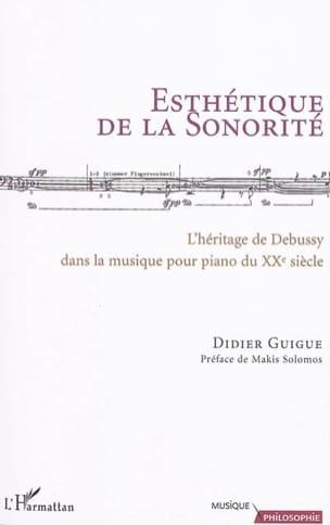 Esthétique de la sonorité - Didier GUIGUE - Livre - laflutedepan.com