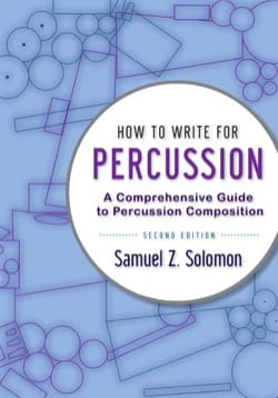 How to Write for Percussion, 2nd edition laflutedepan
