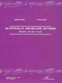 Un intervalle, une mélodie, un poème Agathe DEWA Livre laflutedepan