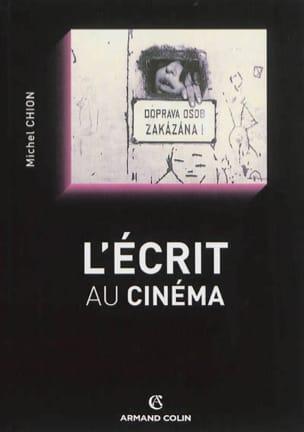 L'écrit au cinéma Michel CHION Livre Les Arts - laflutedepan