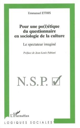Pour une po(ï)étique du questionnaire en sociologie de la culture laflutedepan
