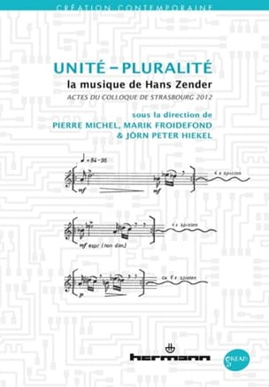 Unité-pluralité : la musique de Hans Zender - laflutedepan.com