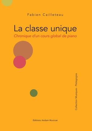 La classe unique - Chronique d'un cours global de piano laflutedepan