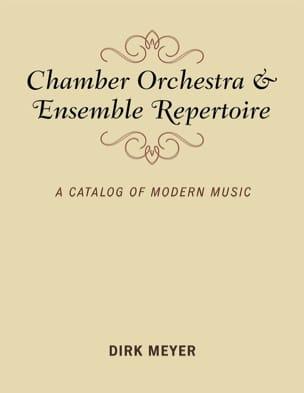 Chamber Music & Ensemble Repertoire Dirk MEYER Livre laflutedepan