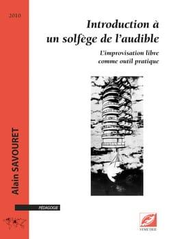 Introduction à un solfège de l'audible Alain SAVOURET laflutedepan