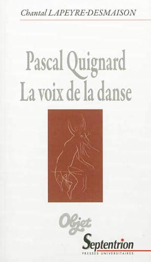 Pascal Quignard : la voix de la danse - laflutedepan.com