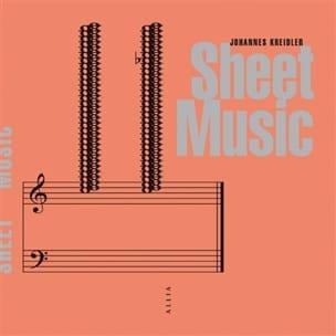 Sheet music Johannes KREIDLER Livre laflutedepan