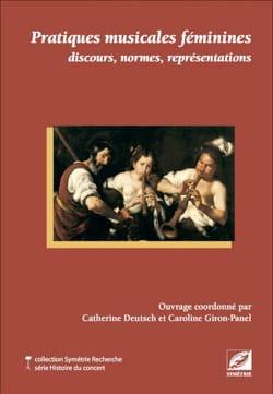 Pratiques musicales féminines Catherine DEUTSCH Livre laflutedepan
