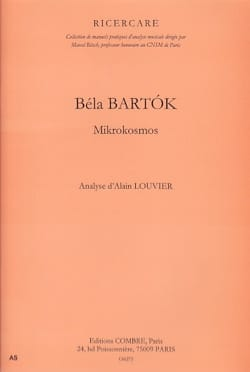 Analyse de Mikrokosmos de Bartok Alain LOUVIER Livre laflutedepan