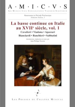 La basse continue en Italie au XVIIe siècle vol. 1 laflutedepan