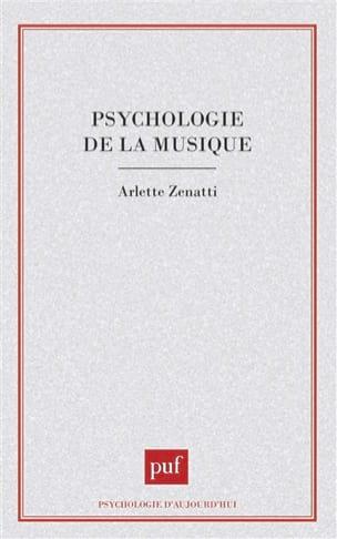Psychologie de la musique ZENATTI Arlette dir. Livre laflutedepan