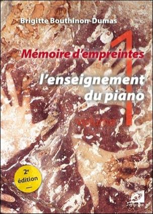 Mémoire d'empreintes, vol. 1 : l'enseignement du piano laflutedepan