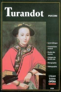 Avant-scène opéra (L'), n° 220 : Turandot PUCCINI Livre laflutedepan