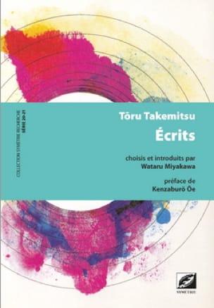 Ecrits - TAKEMITSU - Livre - Les Hommes - laflutedepan.com