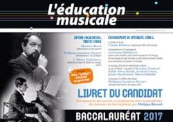 Education Musicale Baccalauréat 2017 Revue Livre Revues - laflutedepan