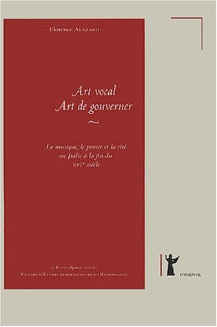 Art vocal - art de gouverner - Florence ALAZARD - laflutedepan.com