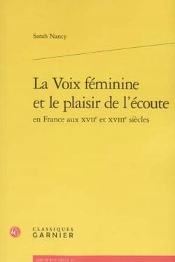 La voix féminine et le plaisir de l'écoute en France aux XVIIe et XVIIIe siècles laflutedepan