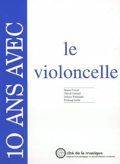 10 ans avec le violoncelle - Collectif - Livre - laflutedepan.com