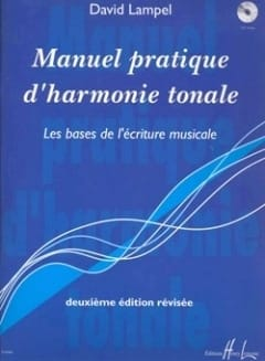 Manuel pratique d'harmonie tonale - David LAMPEL - laflutedepan.com