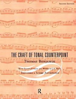 The Craft of Tonal Counterpoint Thomas BENJAMIN Livre laflutedepan